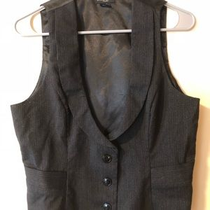 Guess charcoal vest